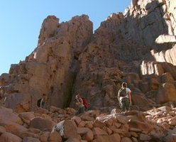 Moses mountain - Sunsplash Divers Dahab Egypt